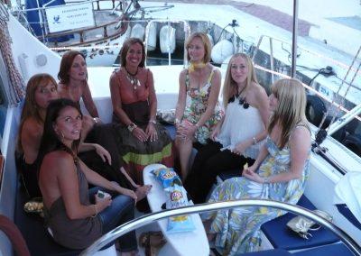 P1000002 Fiestas privadas en barco en Málaga Catamarán Dragón de Oro