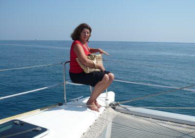 P1000036 Paseo en barco en Málaga Catamarán Dragón de oro