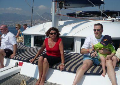 P1000037 Paseo en barco en Málaga Catamarán Dragón de oro