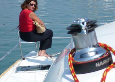 P1000040 Paseo en barco en Málaga Catamarán Dragón de oro