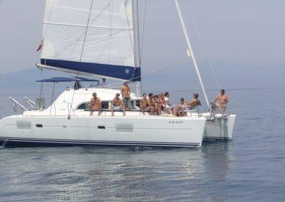 P1000316a Foto Paseo en barco en Benalmádena, Málaga