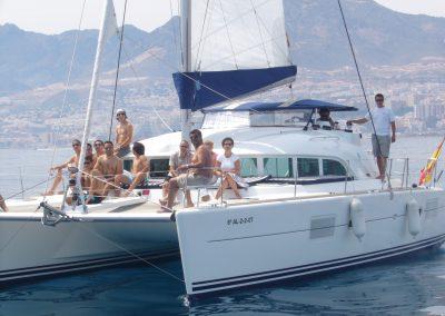 P1000319a Foto Paseo en barco en Benalmádena, Málaga