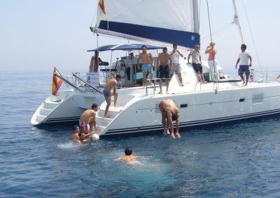 P1000321 Foto Paseo en barco y baño en el mar en Benalmádena, Málaga