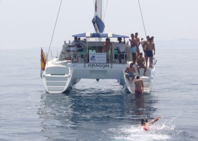 P1000323 Foto Paseo en barco y baño en el mar en Benalmádena, Málaga