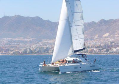 P1000362b Alquilar barco para paseo en Málaga