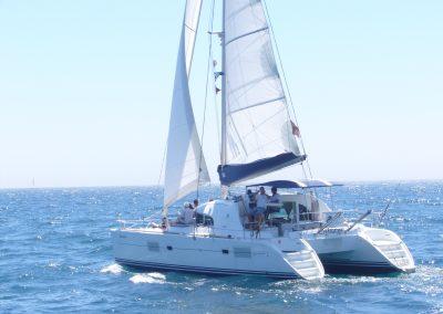 P1000366a Alquilar barco para paseo en Málaga