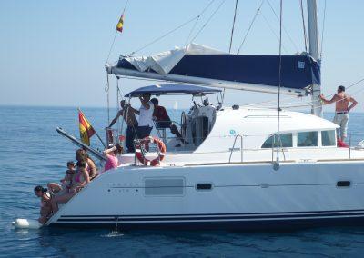 P1000866 Boat trip with your friends in Málaga Catamarán Dragón de Oro