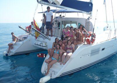 P1000876 Boat trip with your friends  in Málaga Catamarán Dragón de Oro