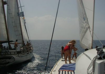 Foto paseo en barco en Benalmádena