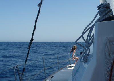 P1010014 Paseo en barco con amigos en Málaga