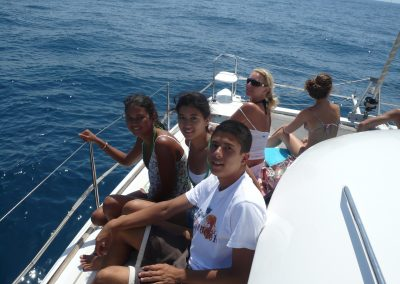 P1010017 Paseo en barco con amigos en Málaga