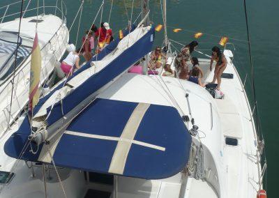 P1010995 Catamarán Dragón de Oro, boat trip