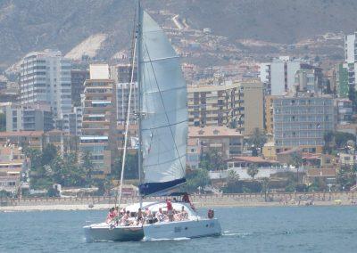 P1020039 Photo Boat trip, catamaran in Malaga