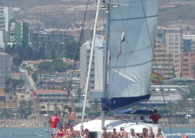 P1020042 Photo Boat trip, catamaran in Malaga