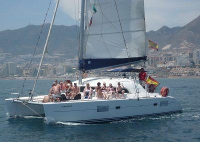 P1020046 Photo Boat trip, catamaran in Malaga