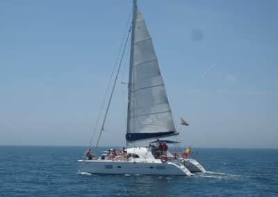 P1020047 Photo Boat trip, catamaran in Malaga