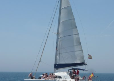 P1020048 Photo Boat trip, catamaran in Malaga