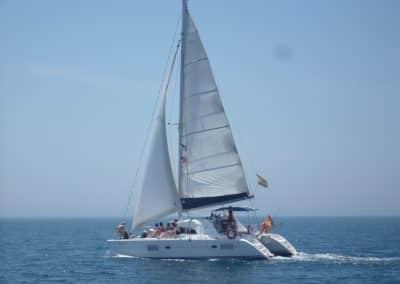 P1020049 Photo Boat trip, catamaran in Malaga