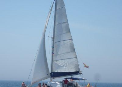 P1020052 Photo Boat trip, catamaran in Malaga