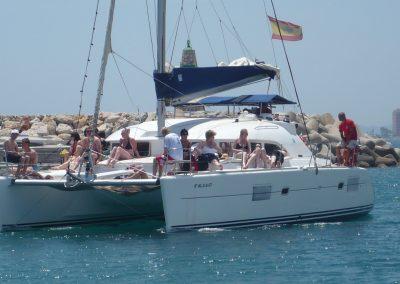 P1020054 Foto Paseo en barco con amigos y familiares, catamarán en Málaga