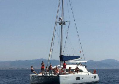 Baños mar catamaran (9)
