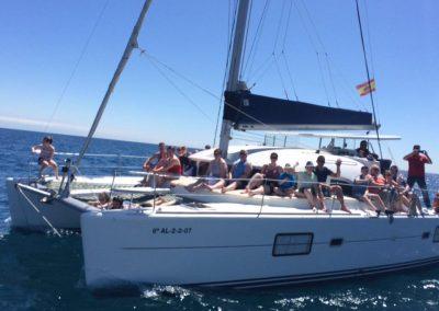 Paseo en catamarán en Málaga Portada 4