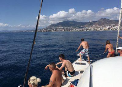 excursión catamarán costa del sol