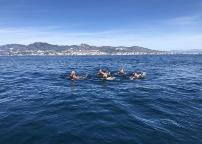 Boat trip with bath in crystal clear waters in Malaga-min