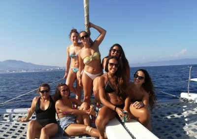 Boat trip, private departure with friends in Puerto Marina, Benalmádena-min
