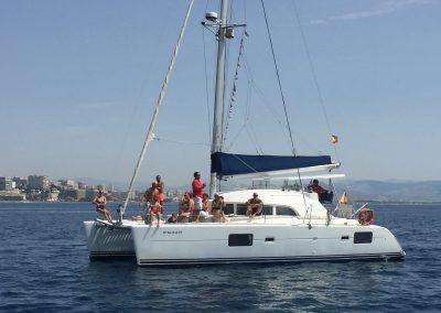 Catamaran ride in Benalmádena, Málaga-min